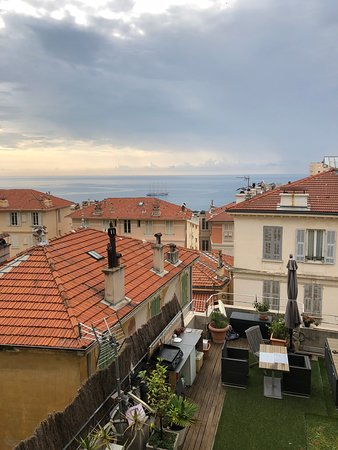 Beausoleil, Monaco: View across the roof tops