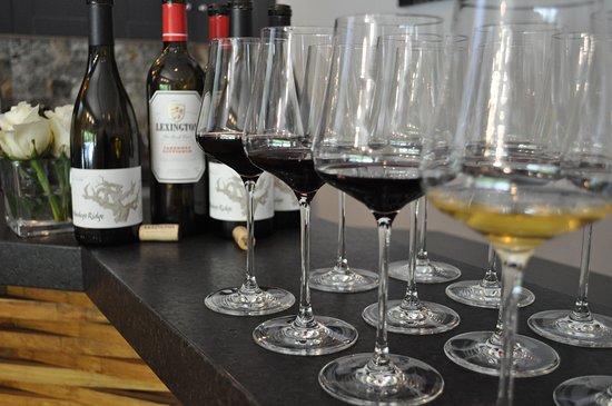 Mindego Ridge and Lexington Wine Tasting Room