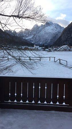 Valbruna, Italy: Bellissima anche con poca neve