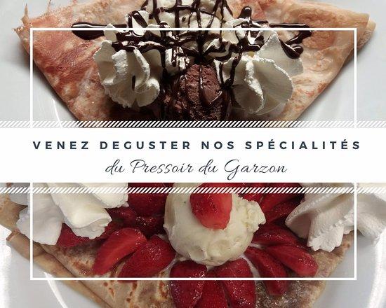 Moelan sur Mer, Francja: venez déguster nos spécialités