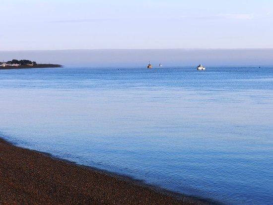 San Blas, الأرجنتين: Parte de la Bahia, desde la playa de Piedras.