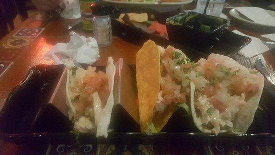 Lupi's Mexican Grill & Sports Cantina: Maya Rivieria Tacos