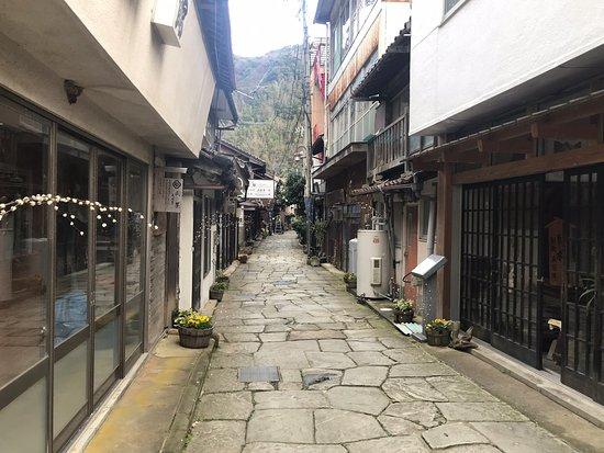Ao Ishidatami Stone Path Street