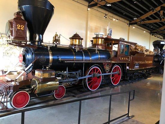 Nevada State Railroad Museum: Fully Restored Steam Engine