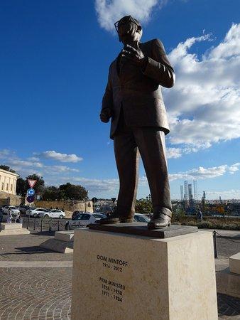 Mintoff Monument