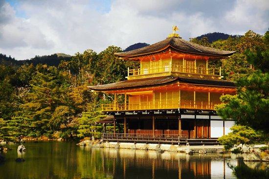 Den gyldne paviljong (Kinkaku-ji)