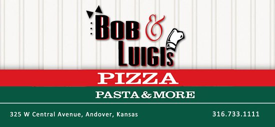Andover, KS: Bob & Luigi's - Hometown pizza has been served hot out of our location for over 40 years!