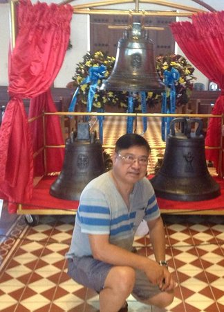 Balangiga, Philippinen: The bells were returned to its rightful owner