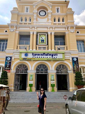Phnom Penh Post Office | Suntours in Phnom Penh