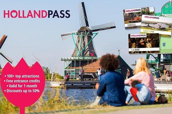 アムステルダム・ロッテルダム・ホラント地域観光パス:無料入場券&割引券