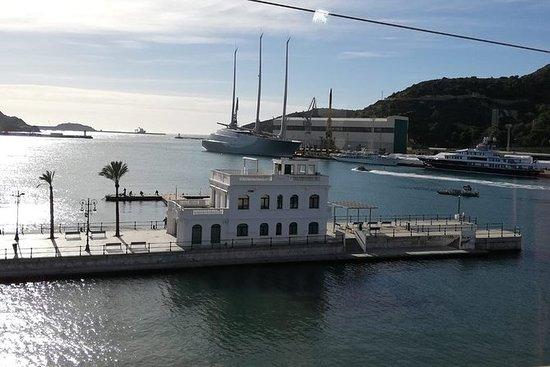Croisière touristique de Carthagène...
