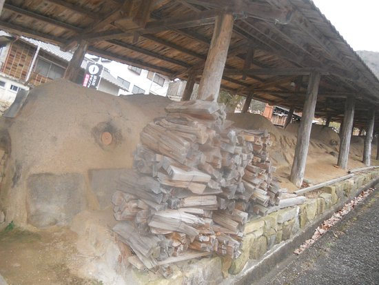 Shinsui Kiln: noborigama kiln up the street