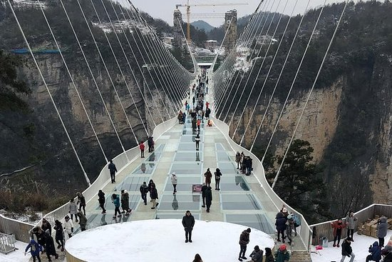 Private Tour: Glass Bridge og Baofeng...
