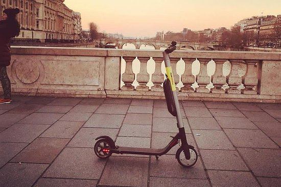 London e-scooter tour