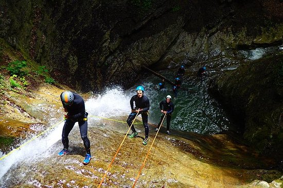 Canyoning on Lake Annecy
