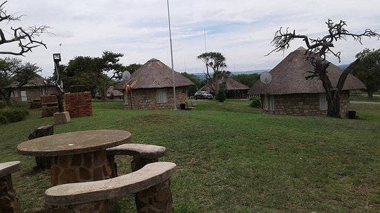 Pietermaritzburg, Republika Południowej Afryki: Really clean, neat and well priced chalets.  Cleaning staff are very efficient.
