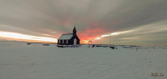 Budir, ไอซ์แลนด์: Black Church its taken in my private tour.