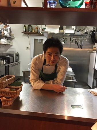 Le propriétaire du restaurant Le Couteau Vert