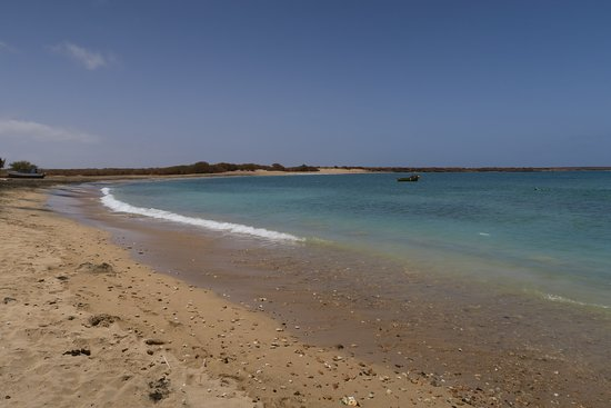 Maio, Πράσινο Ακρωτήριο: la baie de Calheta