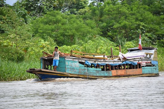 Iquitos Amazon Region, Peru: Local Amazon bus