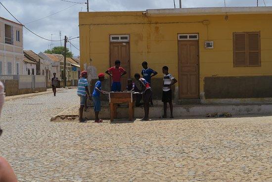 Maio, Πράσινο Ακρωτήριο: le village
