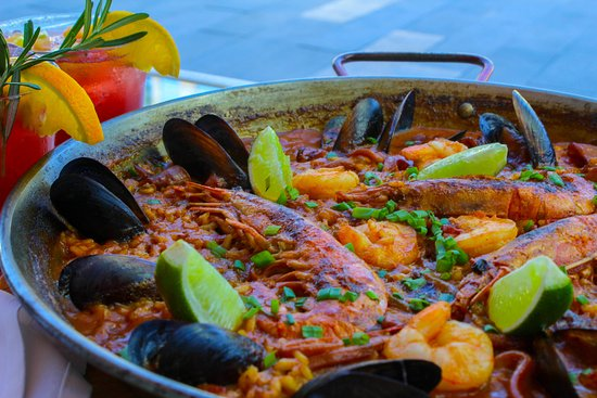 Paella para dos personas, Paella for two people.