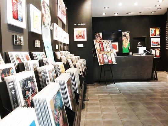 Galerie d'art Carré d'artistes Toulouse