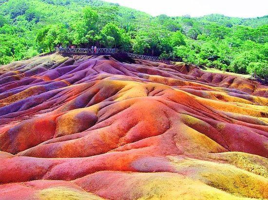 Chamarel's Seven Coloured Earth Geopark