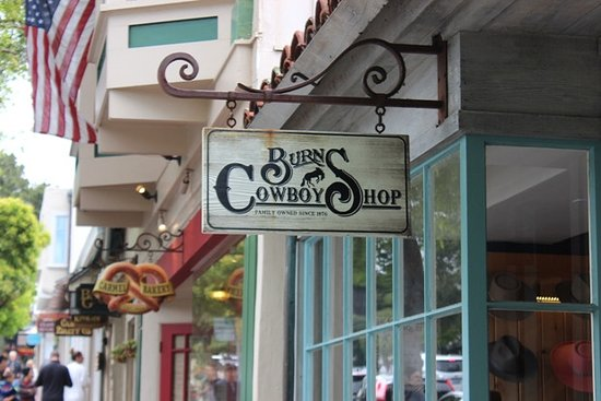 Burn cowboy shop