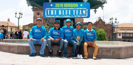 ‪Free Walking Peru Tours BLUE TEAM‬
