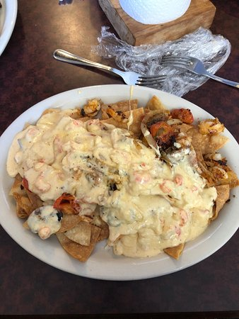 Woodville, TX: Cajun Nachos!!!! You won't regret it. If I was going to die, this would be my last meal!