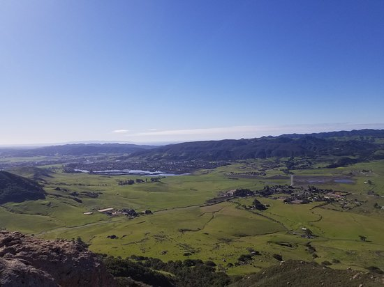 view from the top of Bishop Peak