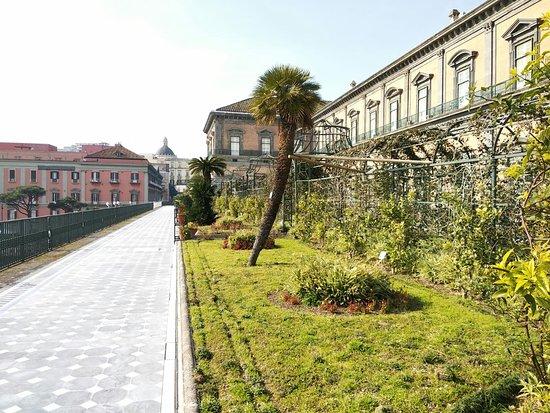 Giardino Pensile di Palazzo Reale Napoli