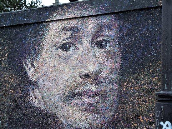 Fresque Rembrandt Dos Au Mur