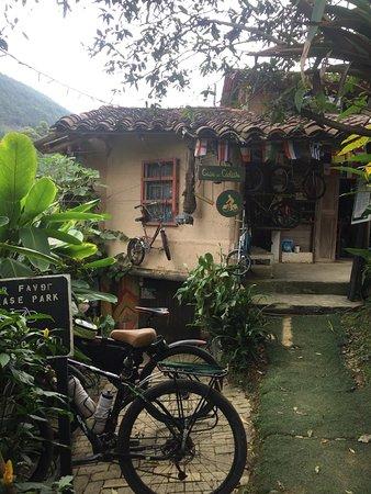 San Antonio de Prado, Colombia: aquí descansan las bicicletas
