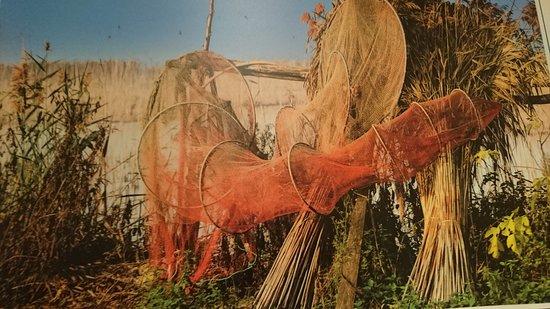 """San Feliciano, Italien: """"TOFO"""" antica rete da pesca"""