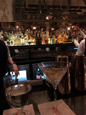 The Whitby Bar & Restaurant: One of my favorite hotel bars in NYC.