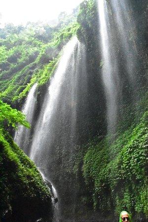 Madakaripura Waterfall: One of the falls on the way.