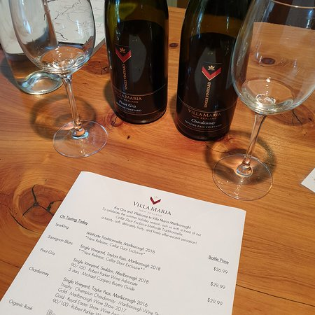Villa Maria Estate Marlborough Winery Blenheim 2019