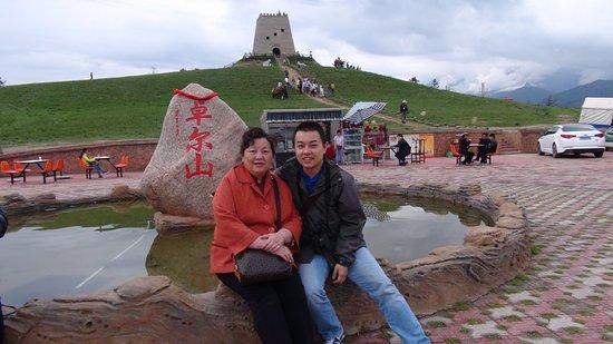 Qinghai, الصين: 卓尔山风景秀丽,值得一遊!