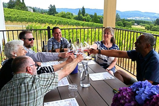 Newberg, OR: Bells Up is always open by appointment and never double book, so private, seated tastings with winemaker Dave Specter are dedicated solely to your group.