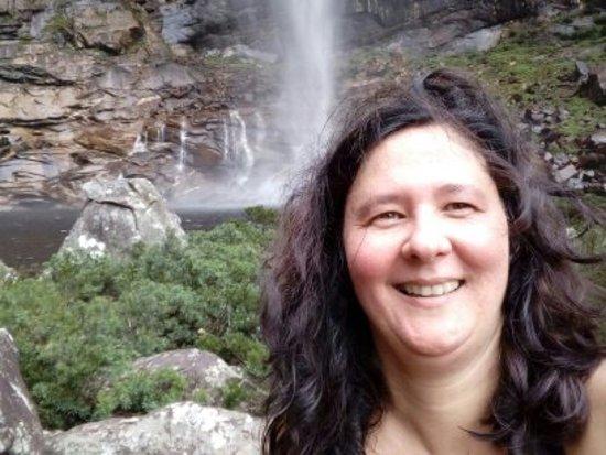 Área da cachoeira.