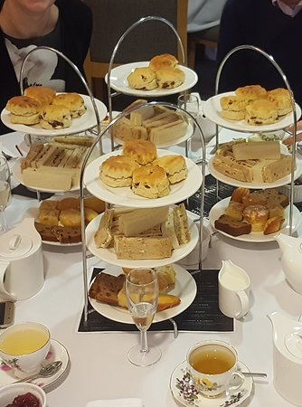 Actual Afternoon Tea Which Cakes Did Not Resmble Anything Like