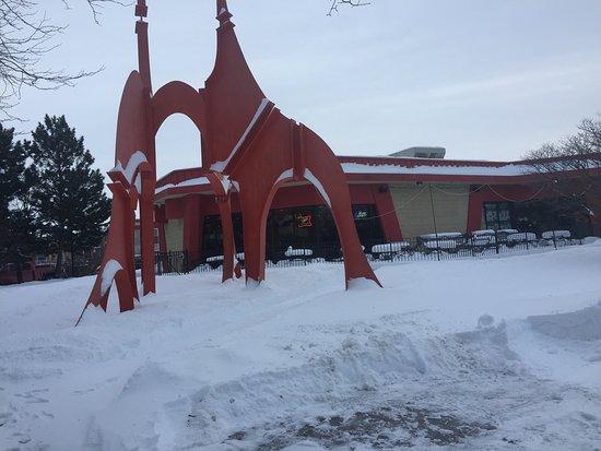 Rosemount, MN: It just snowed.