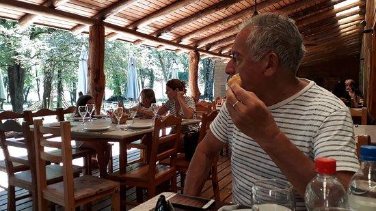 San Clemente, Argentina: Almuerzo en la galería