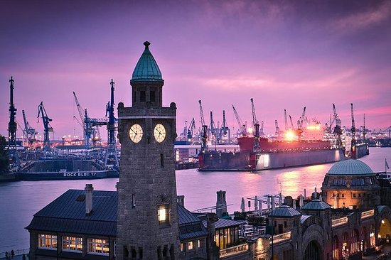 Hamburg's St. Pauli and Harbour...