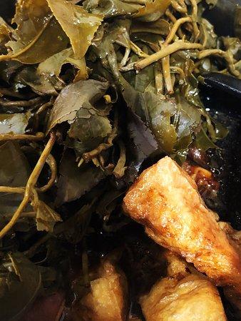 Stew tea tofu