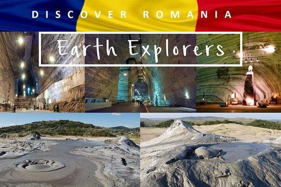 Earth Explorers - Salt Mine, 4K...