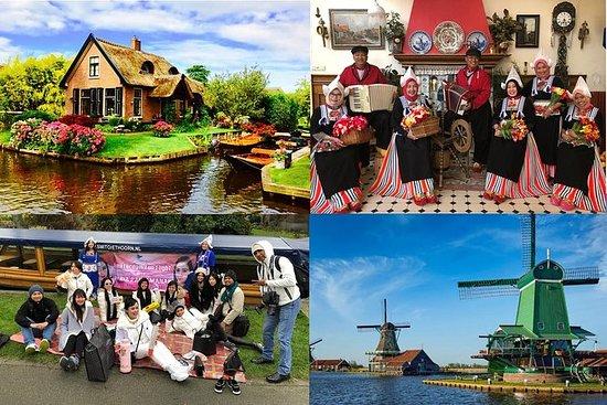 Giethoorn - Volendam - Zaanse Schans...