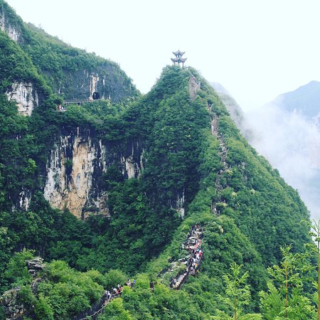 Yunyang County, China: Long Gang National Geo-Park, one of the top must visited tourist attractions in Chongqing!